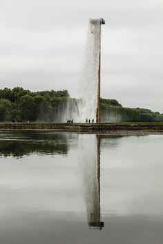 Фонтан-водопад в Версале