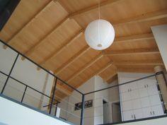 Cubierta realizada con paneles sándwich THERMOCHIP® con acabado natural | #THERMOCHIP #paneles #madera #arquitectura #interiordesign