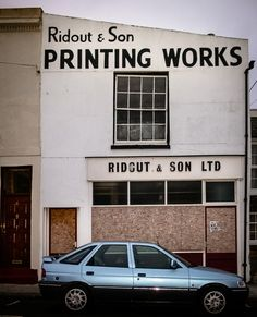 Ridout & Son Printing Works Sons, It Works, Typography, Printing, Cover, Letterpress, Letterpress Printing, My Son, Boys