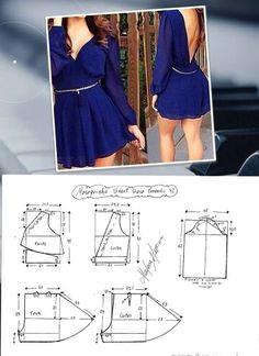 Mini dress pattern