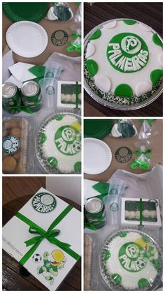 Festa na Caixa - Tema Time Palmeiras Chocolate, Sweets, Diy, Outdoor Decor, Romantic Surprise, Ideas For Birthday Gifts, Hampers, Day Planners, Meals