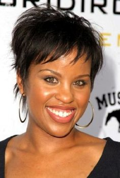 Astounding Hairstyles Thin Hair African Americans And Hair On Pinterest Short Hairstyles Gunalazisus