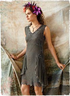 Garbo Silk Sheath Dress take two