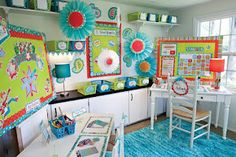 Tommie blogs about Schoolgirl Style's Dots on Turquoise decor ideas.