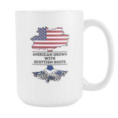 [product_style]-Mug Scottish Scotland- Scottish Roots mug - Scottish Coffee Cup (15oz)-Teelime