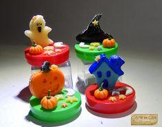 Arte em Casa por Rita Candeu: Lembrancinhas para o Dia das Bruxas - Halloween