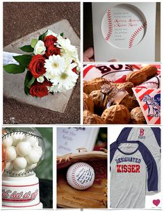 Baseball themed wedding. Ok, I don't think I would actually do it, but it sure would make both of us happy, and would solve a lot of problems.