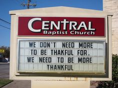 More Fun With Church Sign Wisdom! ||| Light Ministry Blog