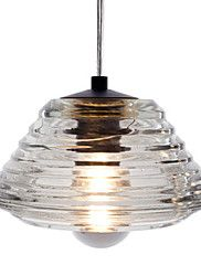 crystal pendant, 1 light, modern bowl glass ele... – GBP £ 52.55