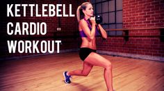 This quick workout uses the kettlebell to get your heart rate up for maximum cardio. Blast calories and fat while strengthening and toning your muscles. Opti...