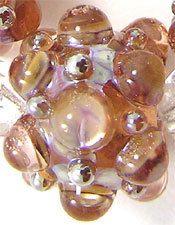 EDJ - GRANDMA'S ROSE BERRIES Glass Lampwork Beads by USA Artist Eric Larson   eBay