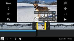 How to Add #Photos in #iMovie for #iOS