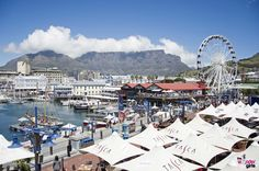 Victoria & Alfred Waterfront The Victoria & Alfred Waterfront in the historic heart of Cape Town's working harbour is South Africa's most-visited destination, having the highest rate of foreign tourists of any attraction in the country. Most Visited, Cape Town, South Africa, Attraction, Dolores Park, Landscapes, Destinations, Victoria, Country