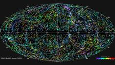 The image above is the most complete map of our local universe to date. It took more that ten years to create, has 43,000 galaxies and extends out 380 million light years from the earth. The 3D coordinates of each galaxy was recorded so the raw data could potentially be used to build a realistic 3D model of the universe. Throw in some holographic technology and you have something straight from Star Trek.