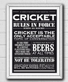 Can anybody explain cricket to a Yank so she'll understand it?