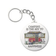 Freaking AWESOME!!  Cute RV Vintage Popup Camper Travel Trailer Keychains