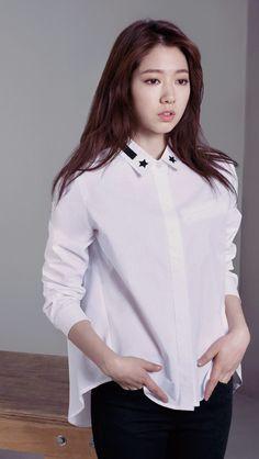 Park Shin Hye for MINDBRIDGE 2015 Spring Collection.