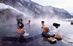 JAPAN // THINGS NOT TO MISS#19 ONSEN. TAKE A DIP AT A TOP ONSEN RESORT TOWN, SUCH AS DOGO, WITH ITS MAGNIFICENT BATHHOUSE, OR EXPERIENCE THE E...