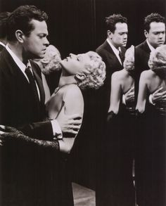 Orson Welles and Rita Hayworth in The Lady from Shanghai, c.1947