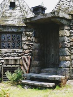Quot Carpe Diem Quot On The Window Of Hagrid S Hut In The