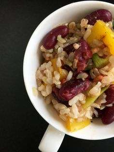 Indian Red Beans Over Rice