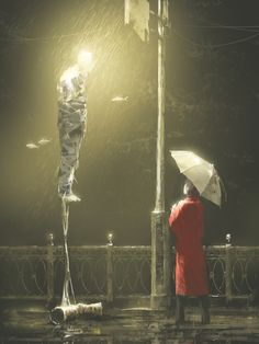 Alex Andreyev. Under the rain. Digital Art