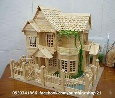 The Toothpicks House , Find Complete Details about The Toothpicks House,Bamboo House/ Toothpicks House/ Toothpick Art from Bamboo Crafts Supplier or M… - Alles über den Garten