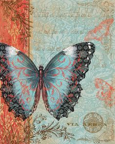 I uploaded new artwork to fineartamerica.com! - 'Royal Tapestry Butterfly' - http://fineartamerica.com/featured/royal-tapestry-butterfly-jean-plout.html via @fineartamerica