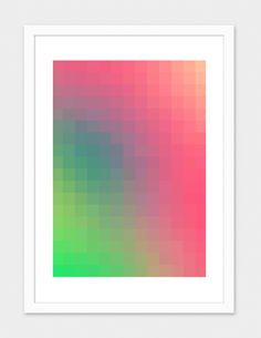 """""""Bright Color Trend"""", Numbered Edition Fine Art Print by danny ivan - From $39.00 - Curioos"""