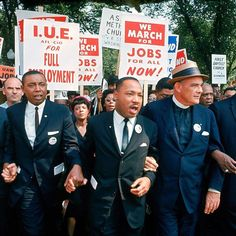 Civil Rights leader Martin Luther King Jr. was born 88 years ago today on January 15, 1929 in Atlanta, Georgia. He is pictured here at the March on Washington for Jobs and Freedom in Washington D.C. in 1963. (Robert W. Kelley—The LIFE Picture...