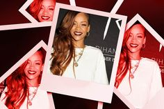 Rihanna looked back to her best at the River Island clothing launch this week