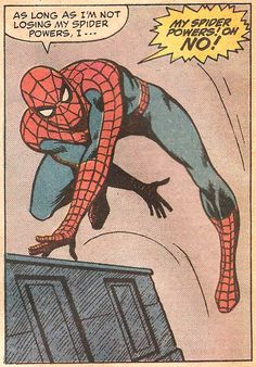 THE SPINNER RACK, My Spider Powers! (by John Romita & Jim Mooney...