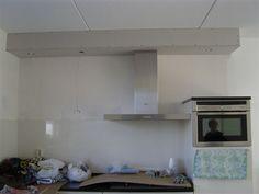 keuken koof | Koof keuken gazen/stuccen en ca. 6 a 8 M2 glad stuccen (Dronten)