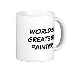 """World's Greatest Painter"" Mug"