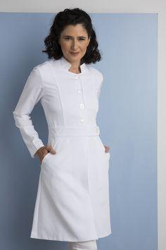 Staff Uniforms, Medical Uniforms, Medical Careers, Nurse Costume, Button Dress, Hottest Photos, Scrubs, Ideias Fashion, Fashion Dresses
