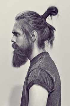 weekend inspo man bun