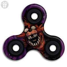 Five Nights At Freddy Nightmare Foxy Spinner Fidget Toy Hand Spinner Toy EDC Helps Focus, Stress, Anxiety, Boredom - Fidget spinner (*Amazon Partner-Link)