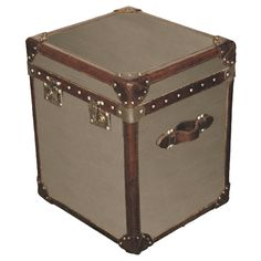 Steamer Trunk Side Table (Halo Styles)