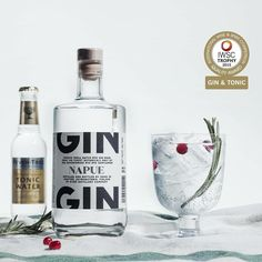 We won the highest honor for the best Gin for Gin&Tonic at IWSC! #napue #gt #gingin #isokyrö #finland