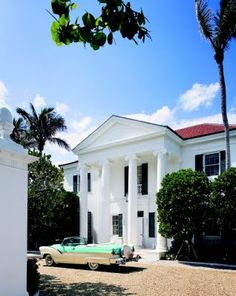 1930's Neo-Georgian Palm Beach House