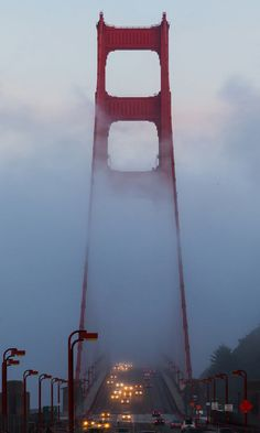 Golden Gate in the Fog