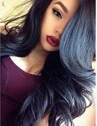 Gorgeous long black hair
