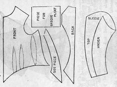 1885 Beatrice Bodice Pattern