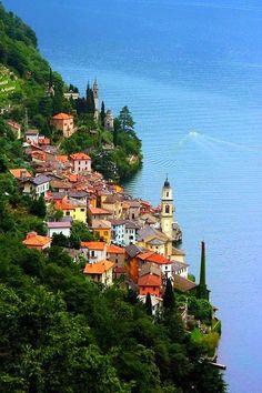 Lago Di Como-Bellagio. Italia