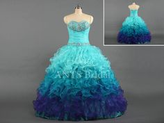 Hey, I found this really awesome Etsy listing at https://www.etsy.com/listing/179670313/aqua-blue-long-prom-dressbeaded