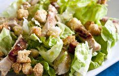 Receita Dedo de Moça: Salada caesar
