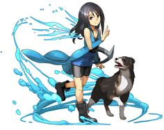 View an image titled 'Rinoa Heartilly Art' in our Puzzle & Dragons art gallery featuring official character designs, concept art, and promo pictures. Final Fantasy Vii, Final Fantasy Characters, Fantasy Series, Female Characters, Fantasy Dragon, Dragon Art, Game Character Design, Character Art, Videogames