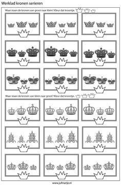 werkbladen groep 1 en 2 koninginnedag - Google zoeken