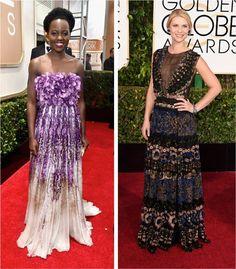 Golden Globe 2015: Lupita Nyong'o e Claire Danes