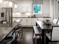 Savor every sip of your morning coffee in an open kitchen with a cozy cafe area. Deep Sink, Modern Kitchen Design, Kitchen Designs, Pulte Homes, Cozy Cafe, Open Kitchen, Cool Kitchens, Kitchen Remodel, Morning Coffee